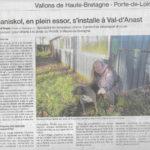 article ouest france janvier 2019