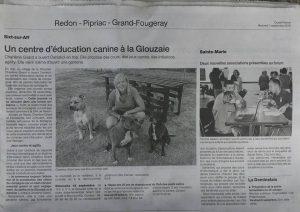 Article dans Ouest France caniskol