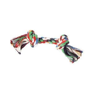 Jouet en corde avec 2 noeuds  Longueur 22 cm 2,50 € Longueur 28 cm 3,50 € Longueur 33 cm 4,50 €