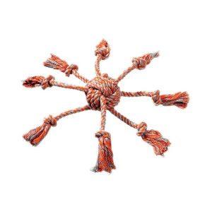 Poulpe en corde 7x8 cm  7€