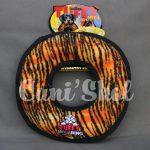 MEGA RING TIGER, diamètre 34cm. 4 couineurs, flotte et lavable. Testé par des tigres aux U.S.A. Niveau 10. Prix 26.50€